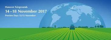 AGRITECHNICA  Germany (12-18 November 2017)
