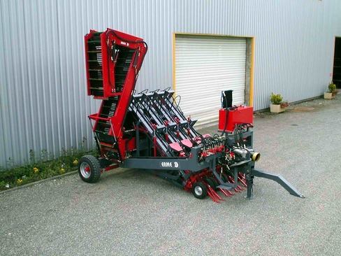 Multi row harvester topper RECL