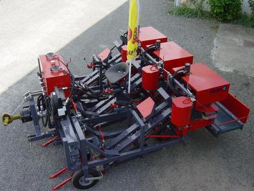 Harvester binder three rows